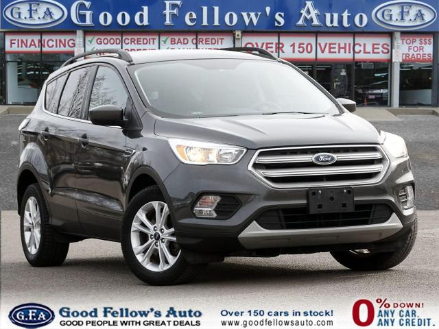 2018 Ford Escape SE 4WD,  BACKUP CAMERA, POWER SEATS, 1.5L ECOBOOST