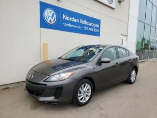 Used 2013 Mazda MAZDA3 GS-SKY - HTD SEATS / BLUETOOTH / PWR PKG for sale in Edmonton, AB