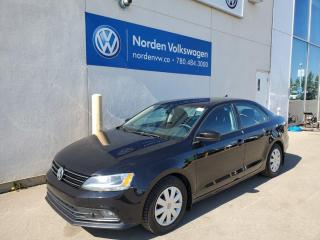 Used 2017 Volkswagen Jetta Sedan TRENDLINE+ AUTO - HTD SEATS / CARPLAY for sale in Edmonton, AB