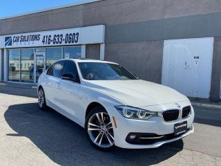 Used 2016 BMW 3 Series 328i xDrive-NAVI-SUNROOF-RED LEATHER for sale in Toronto, ON