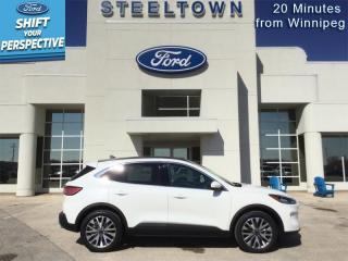 New 2021 Ford Escape Titanium Hybrid AWD  - Sunroof for sale in Selkirk, MB