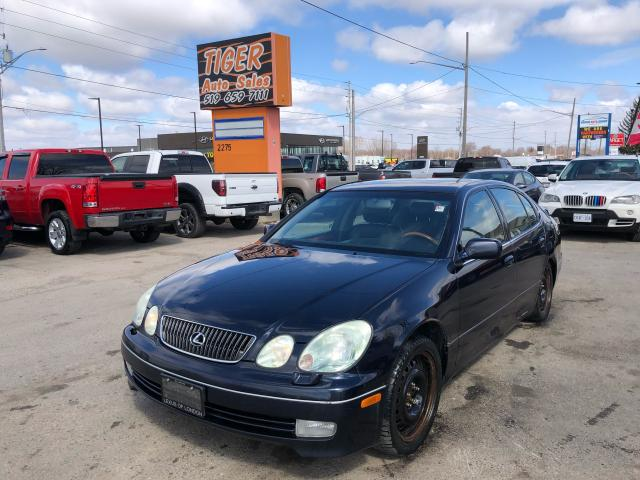 2002 Lexus GS 430 LOADED*LEATHER**WOOD TRIM*RWD**AS IS SPECIAL