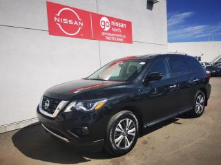 Used 2017 Nissan Pathfinder SL/AWD/LEATHER/NAV/7-SEATER for sale in Edmonton, AB