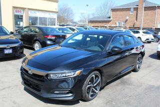 Used 2019 Honda Accord Sport for sale in Brampton, ON