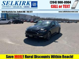 Used 2017 Ford Fusion Sport  *RARE, ECOBOOST, AWD, LOADED* for sale in Selkirk, MB