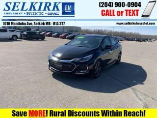 Used 2019 Chevrolet Cruze LT True North Edition  *REMOTE START* for sale in Selkirk, MB