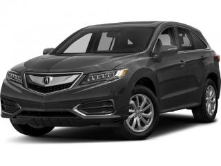 Used 2018 Acura RDX Leather/Power/Heated Seats, Sunroof, Keyless Entry for sale in Brandon, MB