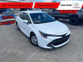 Used 2021 Toyota Corolla Hatchback S for sale in High River, AB