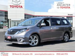 Used 2017 Toyota Sienna SE for sale in Ancaster, ON