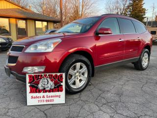Used 2012 Chevrolet Traverse for sale in Glencoe, ON