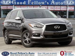 Used 2017 Infiniti QX60 BASE AWD, 6CYL 3.5L, 7 PASS, SUNROOF, LETHER SEATS for sale in Toronto, ON