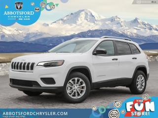 New 2021 Jeep Cherokee Sport  - LED Lights -  UConnect 3 - $204 B/W for sale in Abbotsford, BC