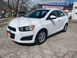 Used 2012 Chevrolet Sonic LT/Automatic/Bluetooth/Gas Saver/Comes Certified for sale in Scarborough, ON