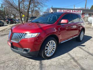Used 2011 Lincoln MKX Leather/Panoroof/Navi/Bckup Camera/Comes Certified for sale in Scarborough, ON
