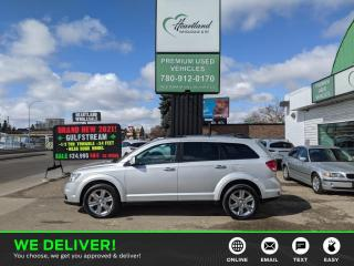 Used 2012 Dodge Journey R/T 7 PASSENGER | LEATHER | SUNROOF | AWD-USED EDMONTON DODGE DEALER for sale in Edmonton, AB