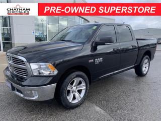 Used 2019 RAM 1500 Classic SLT Nav/Remote Start/Heated Seats and Wheel for sale in Chatham, ON