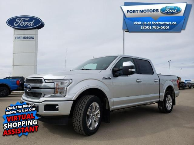 2018 Ford F-150 Platinum  - Navigation -  Leather Seats - $403 B/W
