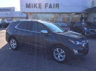 Used 2019 Chevrolet Equinox Premier Heated front Seats, Remote Start, Power Liftgate, Hands-Free, Rear Park Assist, Rear Camera for sale in Smiths Falls, ON