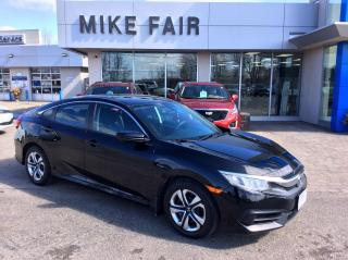 Used 2016 Honda Civic LX FWD, Rear Door Safety Child Locks, UBS Connection, 1-touch Power Windows for sale in Smiths Falls, ON