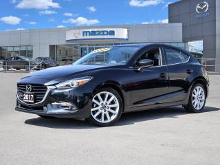 Used 2017 Mazda MAZDA3 GT- LEATHER, BOSE, MOONROOF, BLUETOOTH, NAVI for sale in Hamilton, ON