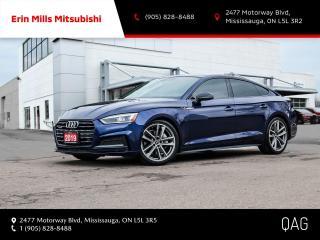 Used 2019 Audi A5 45 Progressiv 2.0T Progressiv|NO ACCIDENTS|1OWNER|SLINE BLACK PKG|NAV|CAM|ROOF for sale in Mississauga, ON