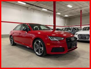 Used 2018 Audi A4 Sedan QUATTRO S-LINE BLACK DRIVER ASSIST RARE FIND! CLEAN CARFAX! for sale in Vaughan, ON