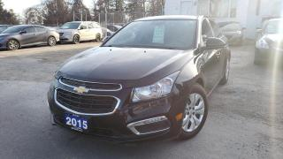Used 2015 Chevrolet Cruze 4dr Sdn 1LT for sale in Scarborough, ON