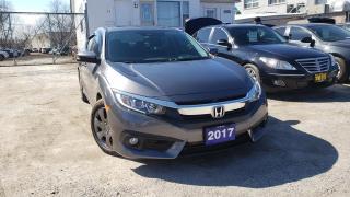 Used 2017 Honda Civic Sedan 4dr CVT EX-T for sale in Scarborough, ON