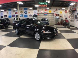 Used 2016 Volkswagen Jetta Sedan 1.4L TRENDLINE AUTO A/C H/SEATS BACK UP CAM SUNROOF for sale in North York, ON