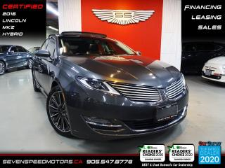 Used 2016 Lincoln MKZ HYBRID | CERTIFIED | FINANCE | 9055478778 for sale in Oakville, ON