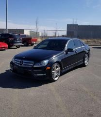Used 2013 Mercedes-Benz C-Class C350 4 MATIC I AMG PACKAGE | $0 DOWN for sale in Calgary, AB