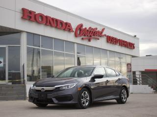 Used 2018 Honda Civic LX | BLUETOOTH | CARPLAY | for sale in Winnipeg, MB