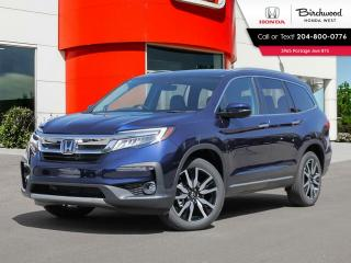 New 2021 Honda Pilot Touring 7-Passenger for sale in Winnipeg, MB