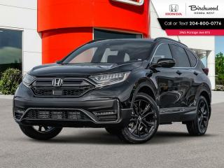 New 2021 Honda CR-V Black Edition for sale in Winnipeg, MB