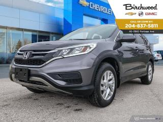 Used 2015 Honda CR-V SE AWD | Bluetooth | Heated Seats | Rear View Camera for sale in Winnipeg, MB