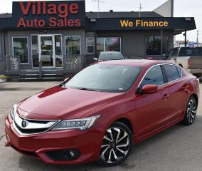Used 2017 Acura ILX A-Spec NAVIGATION! CRUISE CONTROL! BLUETOOTH! for sale in Saskatoon, SK