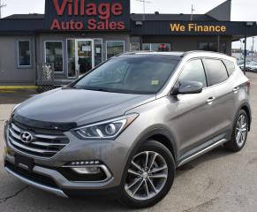 Used 2017 Hyundai Santa Fe Sport 2.0T Limited HEATED SEATS! REMOTE START! NAVIGATION! for sale in Saskatoon, SK