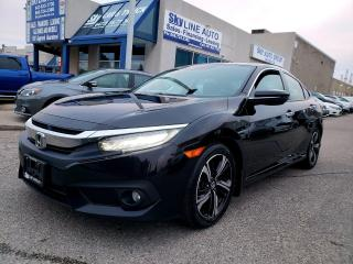 Used 2018 Honda Civic Touring TOURING|LEATHER|SUNROOF|ONE OWNER|CERTIFIED for sale in Concord, ON