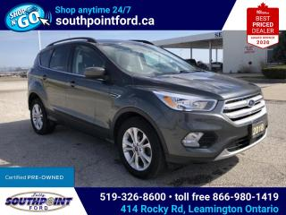 Used 2018 Ford Escape SE|NAV|HTD SEATS|ADAPTIVE CRUISE|LANE KEEPING for sale in Leamington, ON