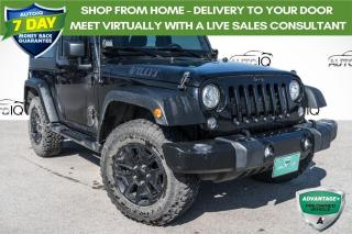 Used 2017 Jeep Wrangler Sport ONE OWNER!!! for sale in Barrie, ON