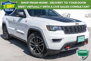 Used 2018 Jeep Grand Cherokee Trailhawk ONE OWNER!! LEATHER!! POWER LIFTGATE!! for sale in Barrie, ON