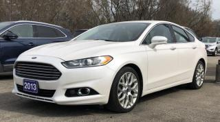 Used 2013 Ford Fusion Titanium for sale in Brockville, ON