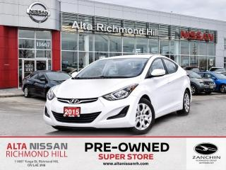 Used 2015 Hyundai Elantra GL   Heated Seats   Bluetooth for sale in Richmond Hill, ON