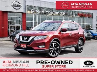 Used 2018 Nissan Rogue SL Plat   360CAM   BSW   PWR Liftgate   Bose   NAV for sale in Richmond Hill, ON