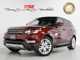 Used 2016 Land Rover Range Rover Sport Td6 HSE I PANO I NAV I 21 INCH WHEELS for sale in Vaughan, ON