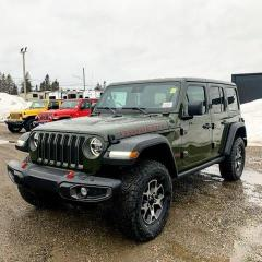 New 2021 Jeep Wrangler Unlimited Rubicon for sale in Kapuskasing, ON