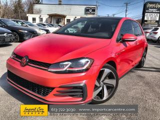 Used 2018 Volkswagen Golf GTI 5-Door Autobahn TECH PACK  LEATHER  ROOF  NAVI  FE for sale in Ottawa, ON