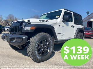 New 2021 Jeep Wrangler Willys for sale in Mitchell, ON