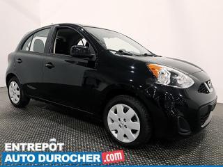 Used 2017 Nissan Micra ÉCONOMIQUE - AUTOMATIQUE- CLIMATISEUR for sale in Laval, QC