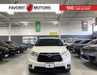 Used 2016 Toyota Highlander HYBRID XLE AWD|HYBRID|8PASSENGER|NAV|SUNROOF|LEATHER|+++ for sale in North York, ON